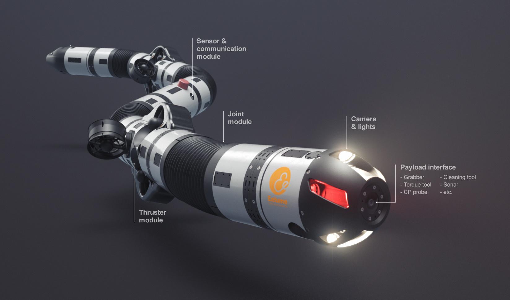 Първият подводен автономен робот се появи