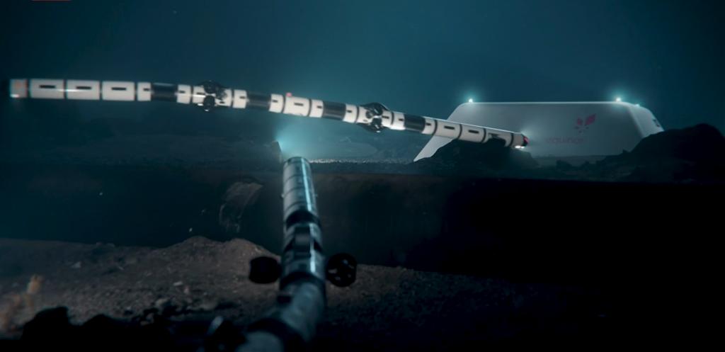 Първият подводен автономен робот Eelum.