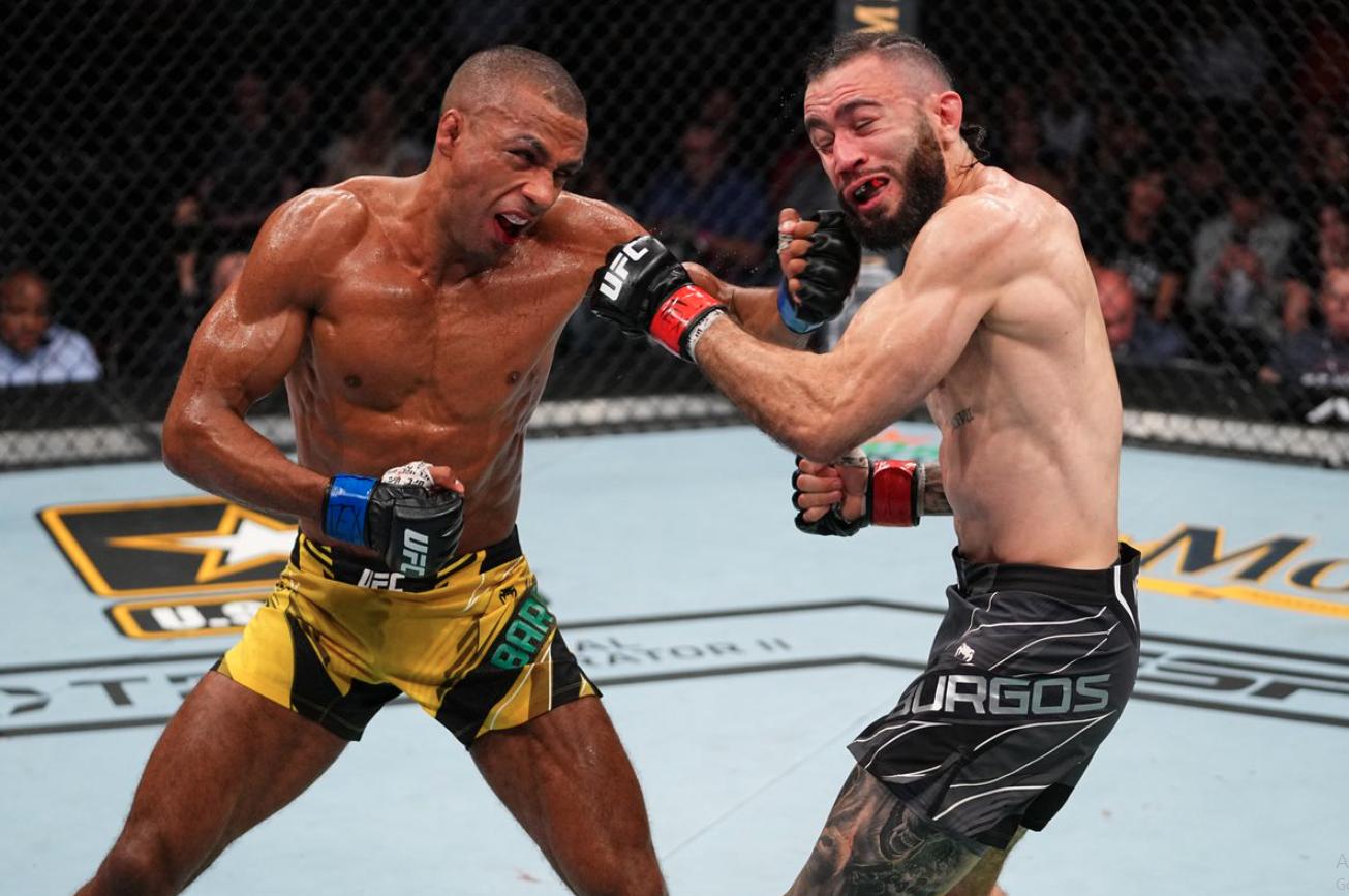 UFC 262 : Едсън Барбоза не разбира как е нокаутирал Шейн Бургос
