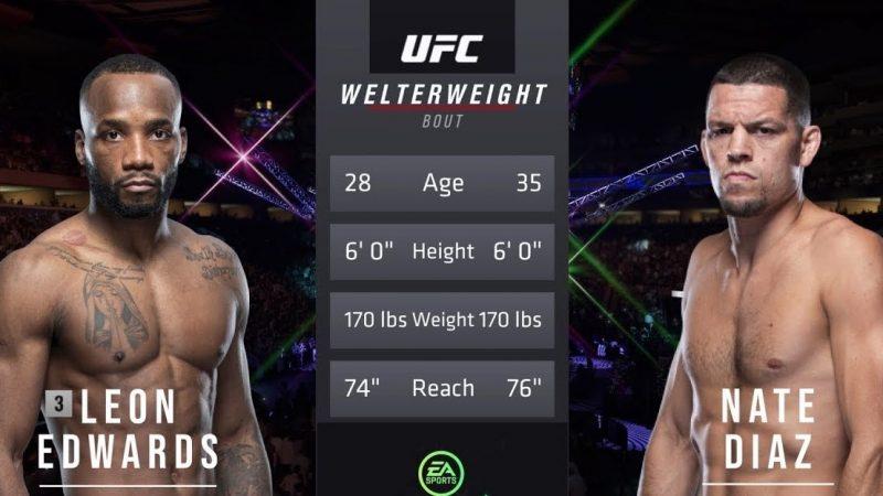 UFC 263 Nate Diaz