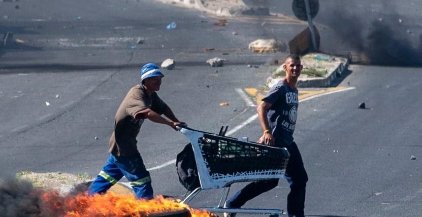 Военно положение по улиците на Южна Африка