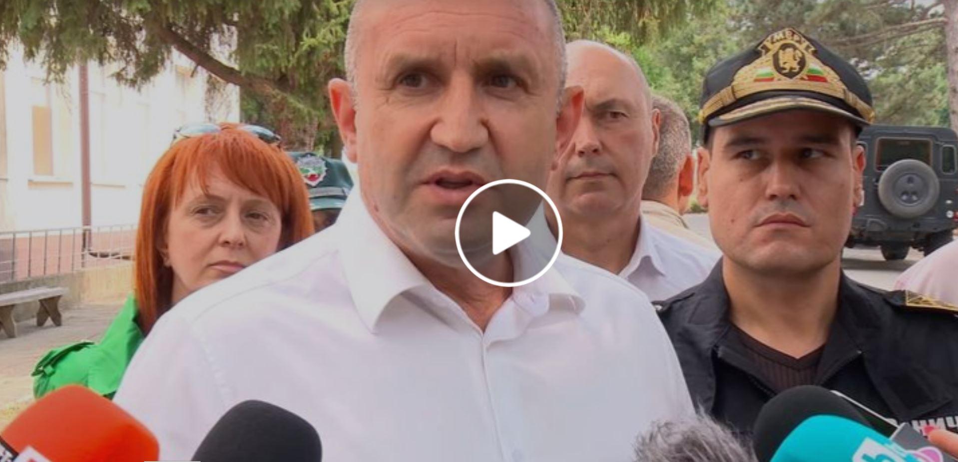 Президентът Радев с ново изявление – ВИДЕО