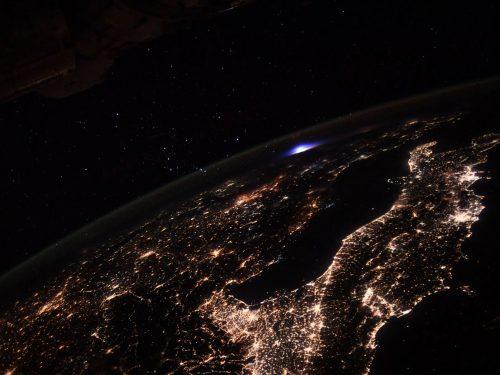 земята от космическата станция