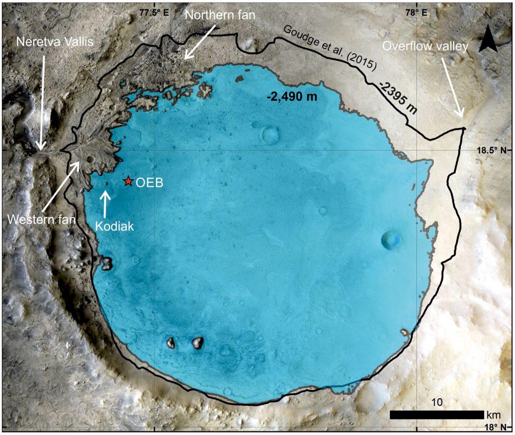 Марс езеро